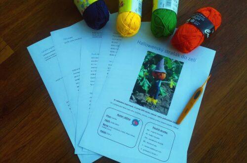 online kurz jak číst v psaných návodech na háčkování