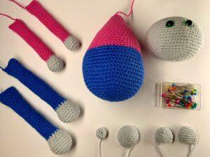 jak se naučit háčkovat a sešívat hračky